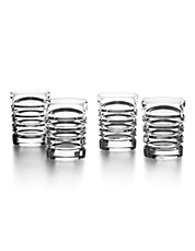 Four-Piece Metropolis Shot Glass Set