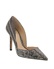 Snake Point Toe Pumps