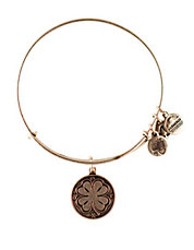 4 Leaf Clover Charm Bangle