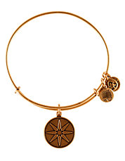 Star Of Venus Charm Bangle
