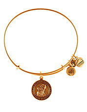 St Christopher Charm Bangle
