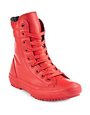 Hi-Rise Rubber Boot Sneakers