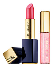Powerful Lip Set Featuring Pure Color Envy Sculpting Lipstick and Pure Color Gloss