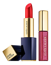 Envious Lip Set Featuring Pure Color Envy Sculpting Lipstick and Pure Color Gloss