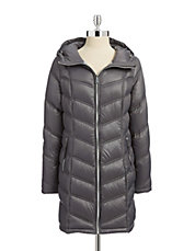 Essential Packable Long Down Coat