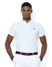 Custom Fit Stretch Mesh Polo Shirt