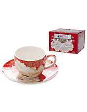 Kimono Collection Demi Tasse Cup and Saucer