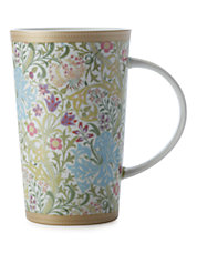 William Morris Golden White Lily Conical Mug