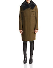 Yvoia Bolton Virgin Wool Coat