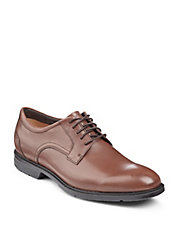 City Smart Leather Derby Shoes