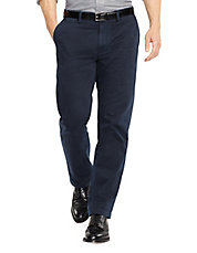 Classic Fit Flat Front Chino Pant