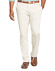 Big and Tall Classic-Fit Flat-Front Chino Pant