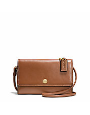 Phone Crossbody In Leather