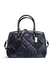 Empire Patchwork Leather Carryall