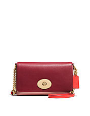 Crosstown Crossbody in Colorblock Leather