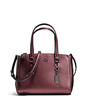 Stanton Carryall in Metallic Pebbled Leather