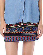 Multicolour Beads Mini Skirt