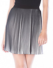 Fine Pleated Mini Skirt