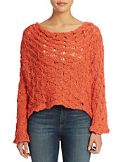 Cowl Back Pullover