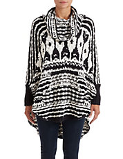Rosie Lee Poncho Sweater