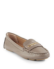 Lynsey Snakeskin Embossed Loafer