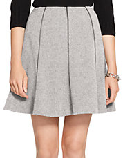 Wool Tweed Skirt