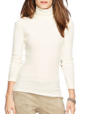 Petite Cotton Turtleneck Shirt