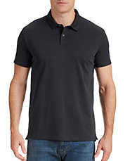 Pima Cotton Blend Polo Shirt