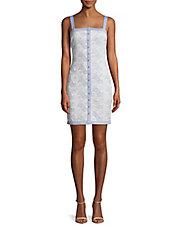 Front Button Lace Dress GUESS Buy Cheap View Online Cheap Authentic odjYku