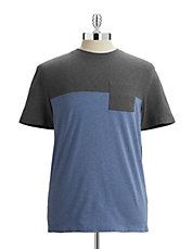 Colourblock Pocket T-Shirt