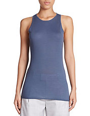 Sleeveless Merino Wool Sweater