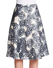 Country Rose Circle Skirt