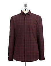 Buffalo Check Cotton Shirt