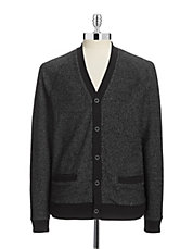 Marled French Terry Cardigan