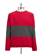 Colourblocked Cotton Sweatshirt