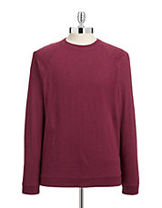 Slub Knit Jersey Long-Sleeve Tee
