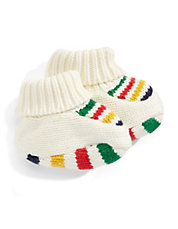 Cubby - Multi Stripe Baby Booties