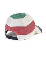 Multistripe Cotton Baseball Cap