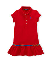 Stirrup Charm Polo Dress