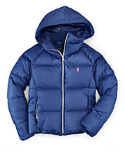 Quilted Poly-Down Jacket
