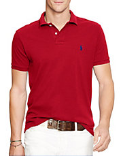 Slim-Fit Pique Polo Shirt