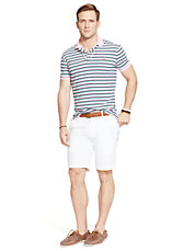 Striped Pima Soft Touch Polo Shirt