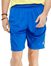 Striped Performance Short