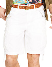 Relaxed Fit Ripstop Cargo Short