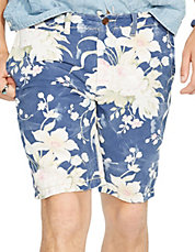 Straight-Fit Floral Maritime Short