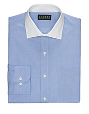 Slim-Fit End-on-End Warren Dress Shirt