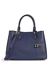 On-the-Go Carryall Leather Bag