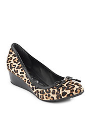 Tali Calf Hair Wedges