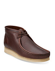 Wallabee Leather Desert Boots