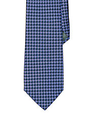 Geometric Neats Silk Tie